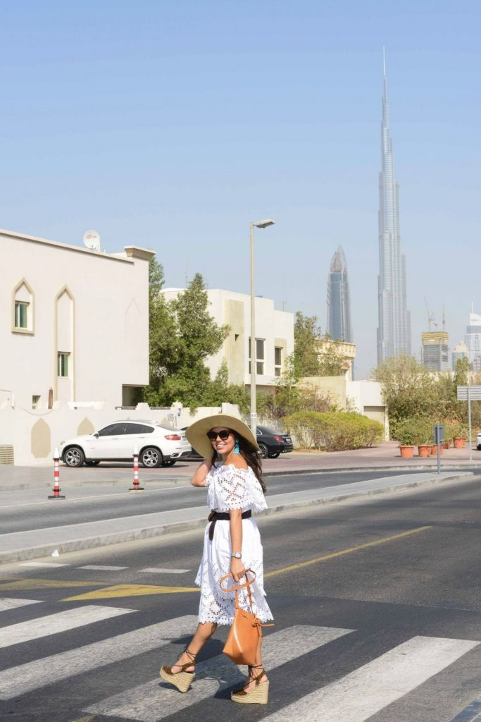 How to dress for summer heat in Dubai - Adored by Alex