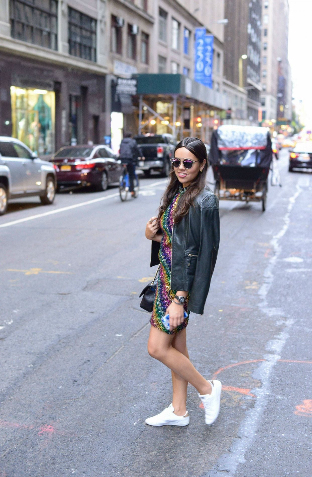 NYFW // Sequins \u0026 Sneakers   Adored By Alex