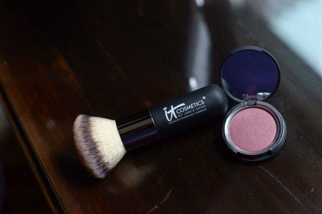 It Cosmetics blush and brush