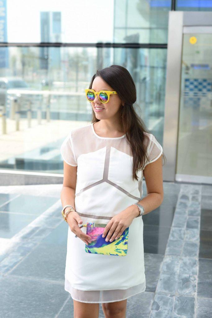 Quay Yellow sunglasses