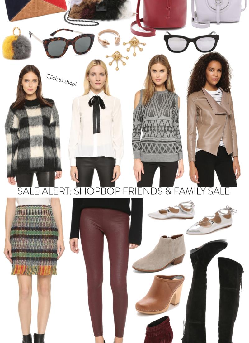 Let's Shop: Shopbop Friends & Family Sale