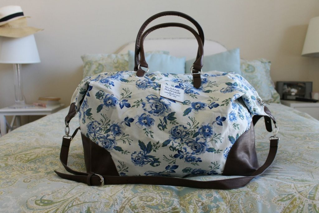 Packing for a weekend get away with Sloane Ranger