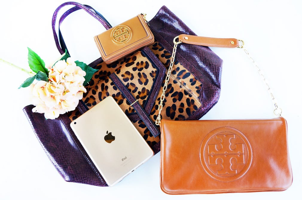 Tory Burch - Gold iPad blog giveaway