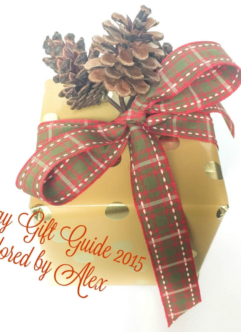 Holiday Gift Guide 2015 // For the Gals