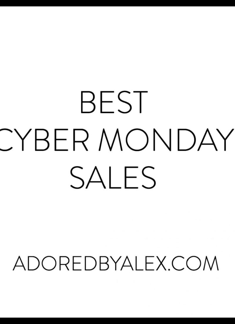 Let's Shop: Cyber Monday 2015 Sales
