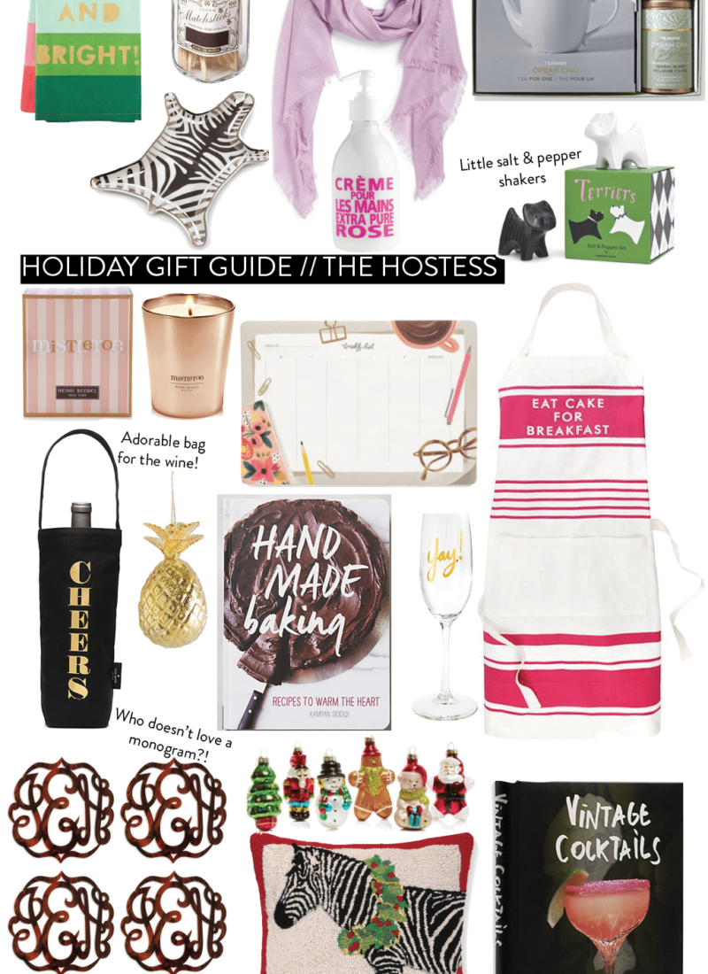 Holiday Gift Guide 2015 // For The Hostess