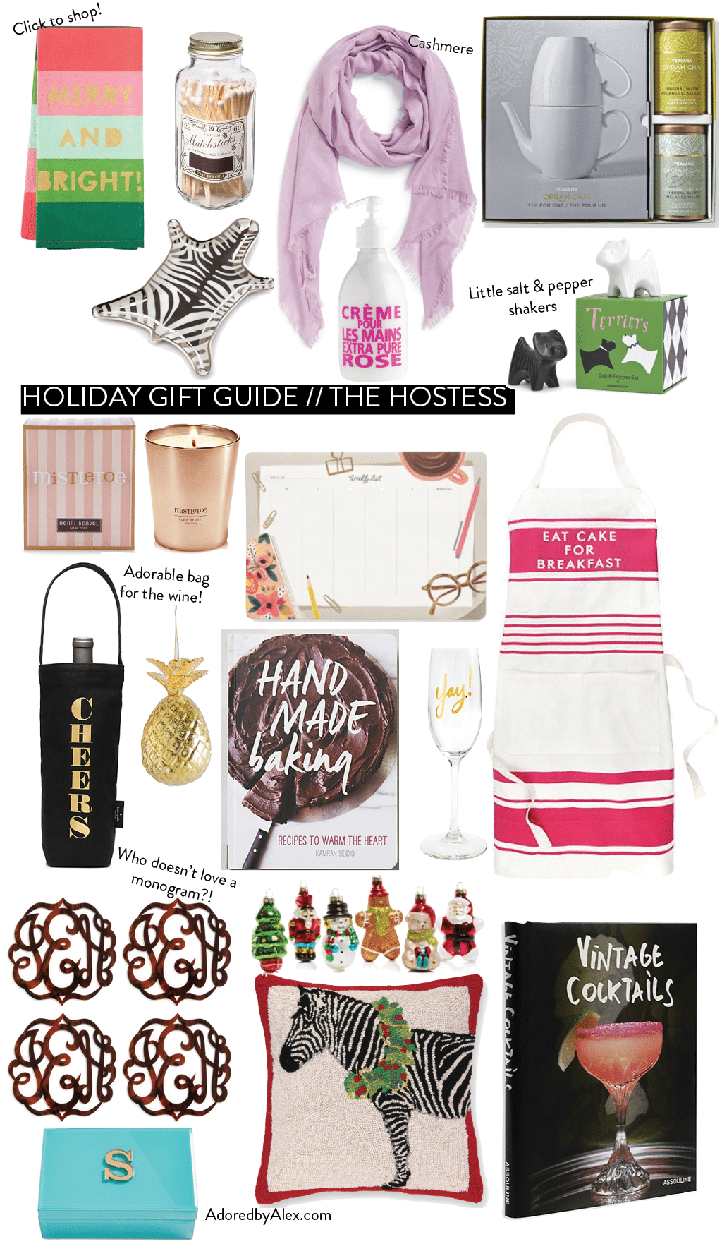 Holiday Gift Guide - Present Ideas For the Hostess