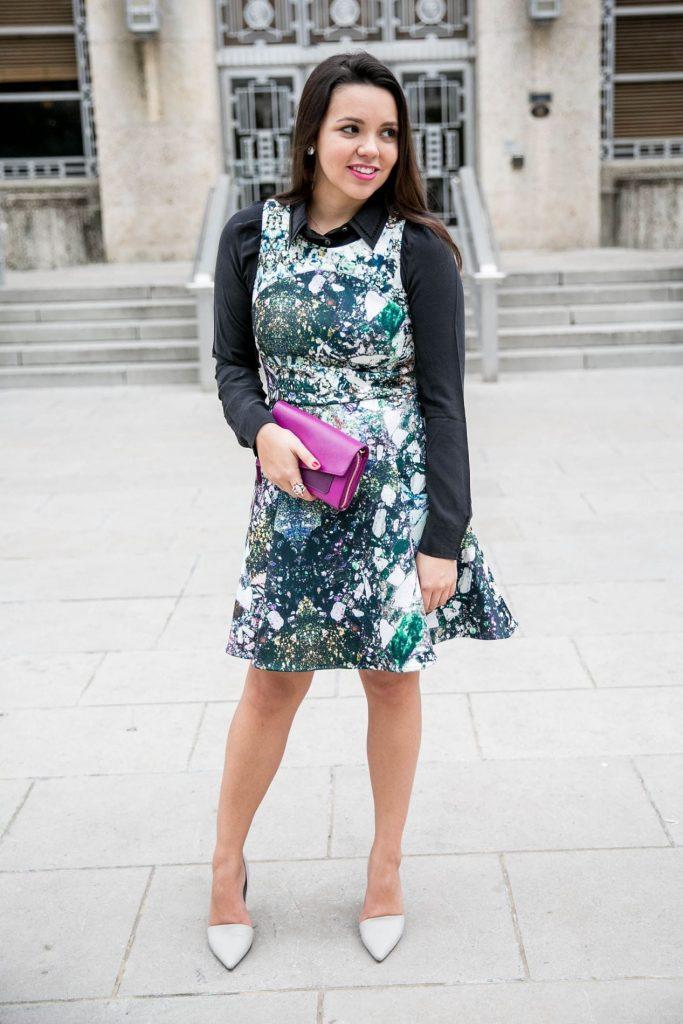 Hunter Bell NYC Neoprene dress