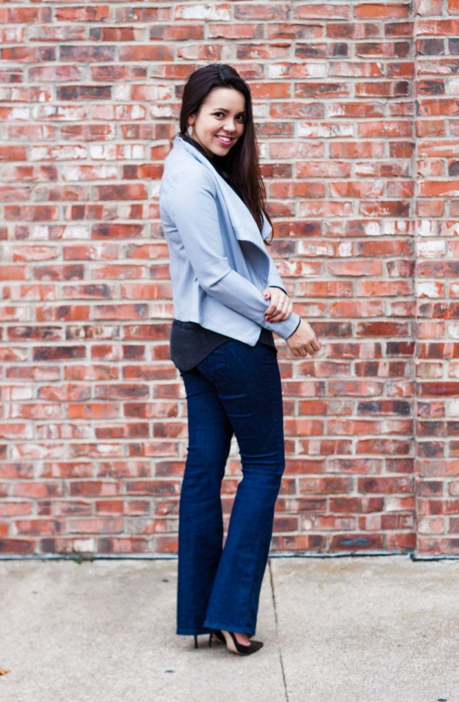 Grey-drape-front-jacket