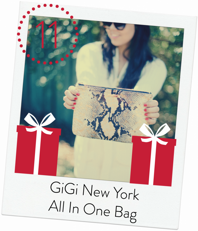 GiGi New York - All In One Bag python