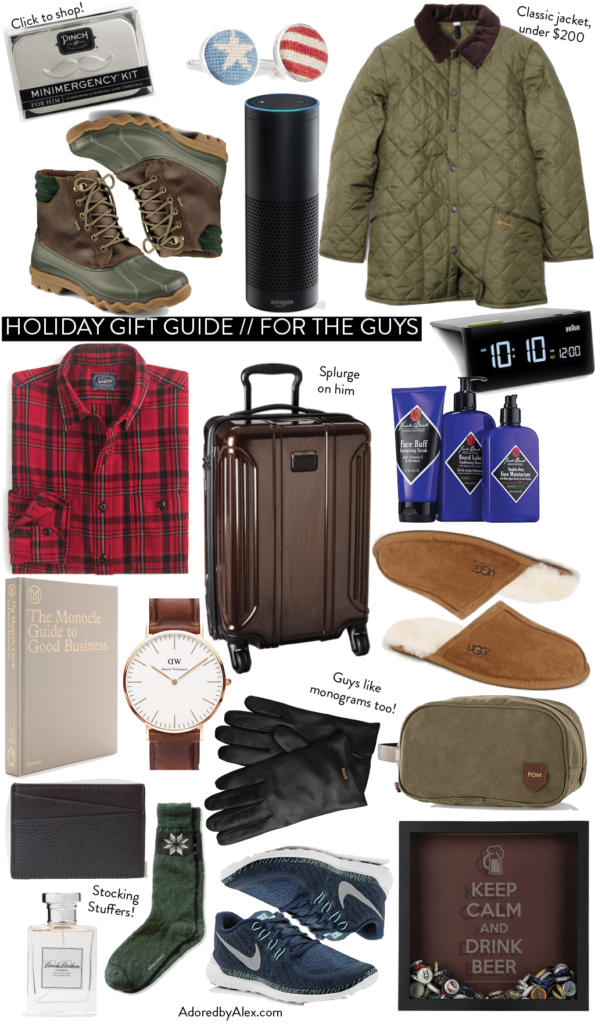 Christmas Gift Ideas 2015 for the Guys