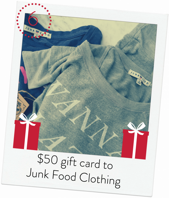 Junk Food Clothing Giveaway