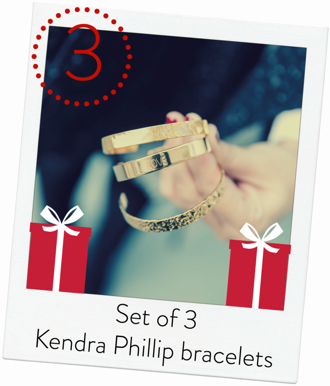 Kendra Phillip bracelets giveaway - Adored by Alex