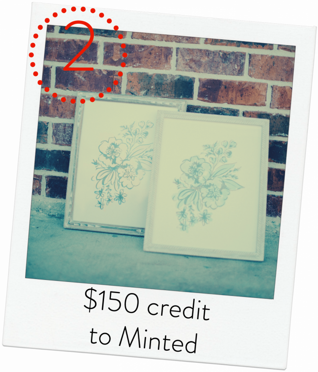 Minted $150 giveaway - Adored by Alex