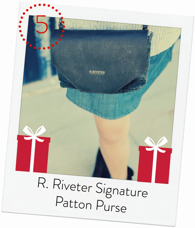 R. Riveter Signature Patton Purse