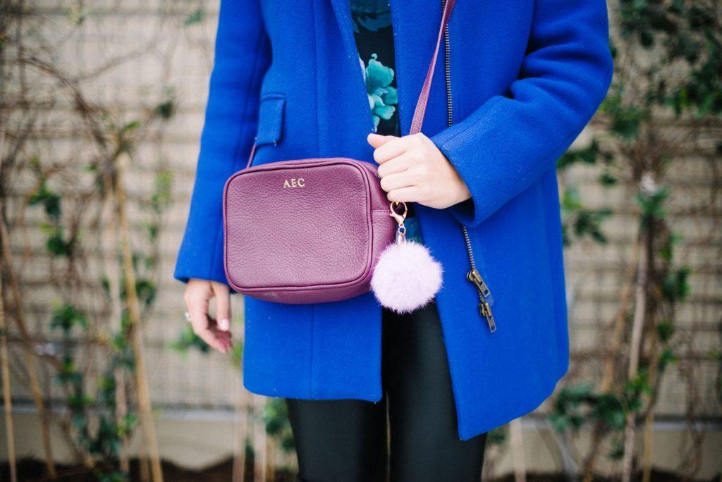 GiGi New York crossbody purse styling