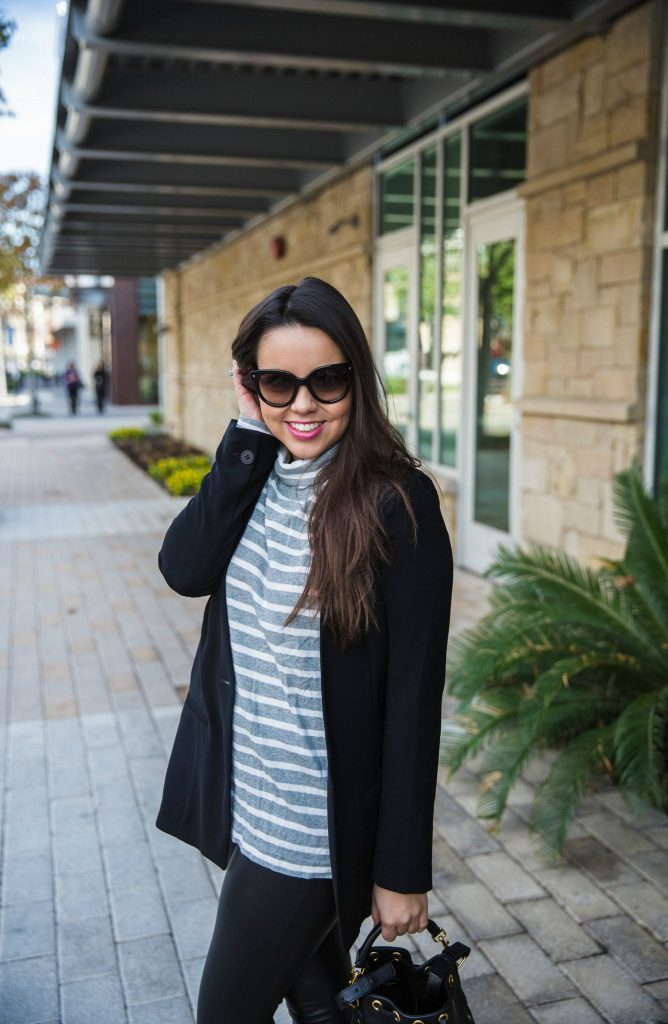 mixing grey and black outfit ideas