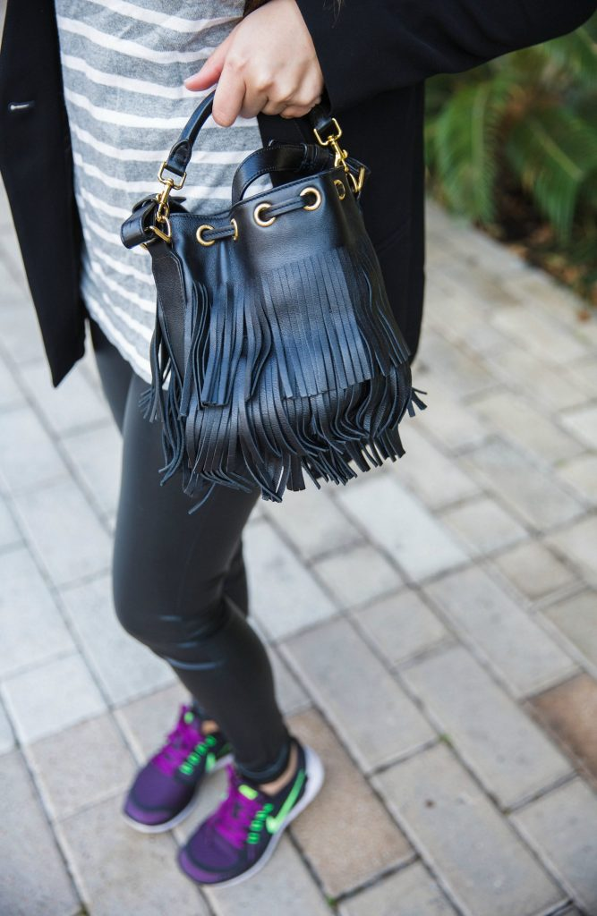 saint laurent emmanuel bucket bag, trendy designer bags