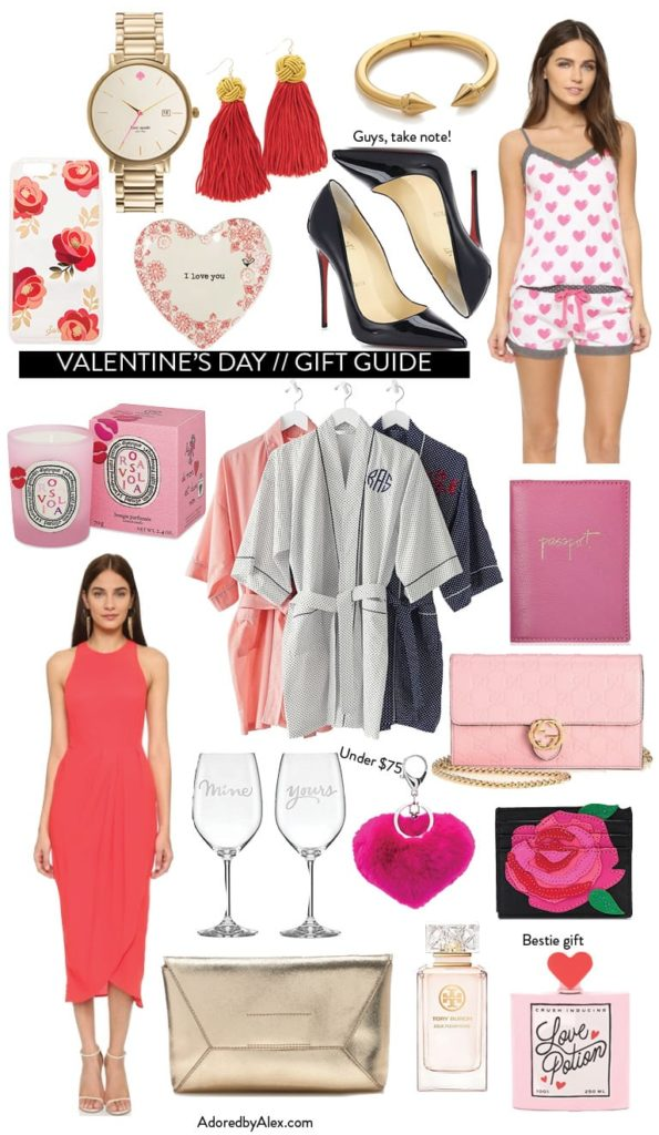 Gift Guide // Valentine's Day