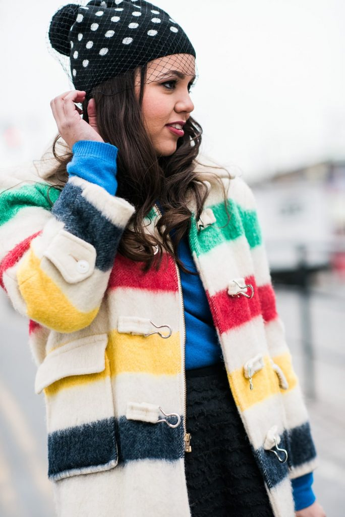 vintage striped jacket