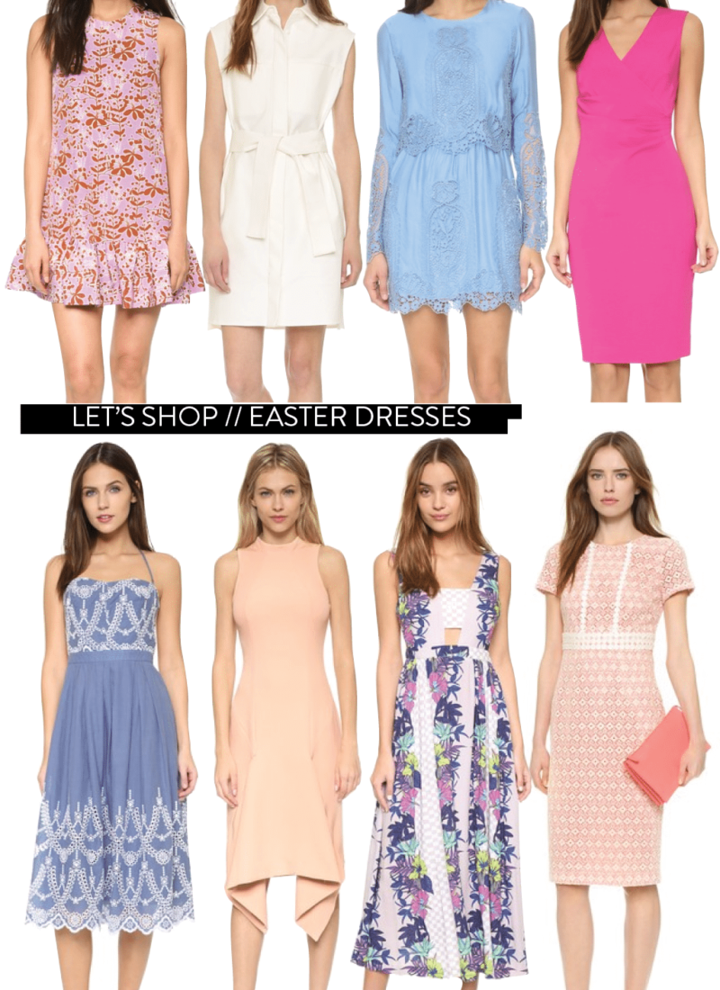 Let's Shop // Easter Dresses for all Budgets