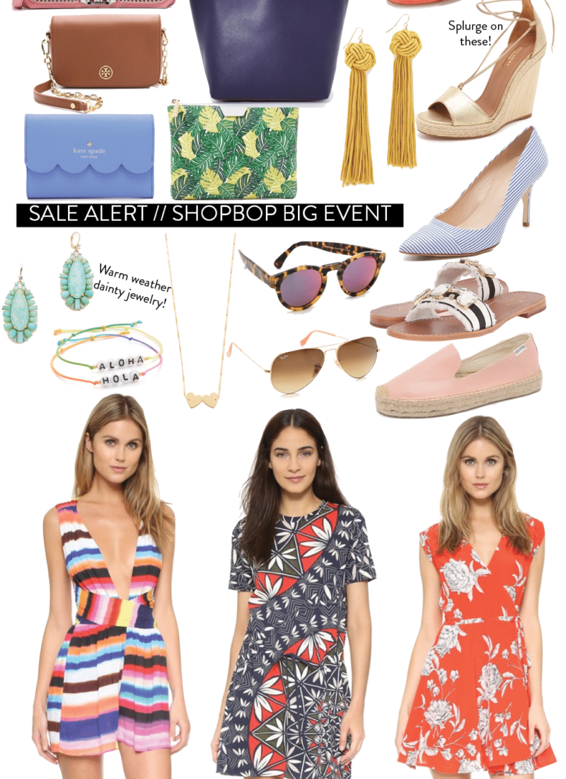 Sale Alert // Shopbop Big Event
