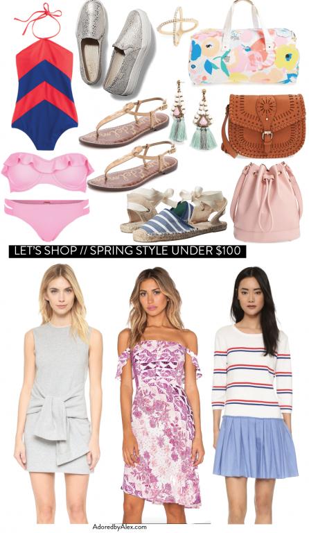 Spring Style under $100