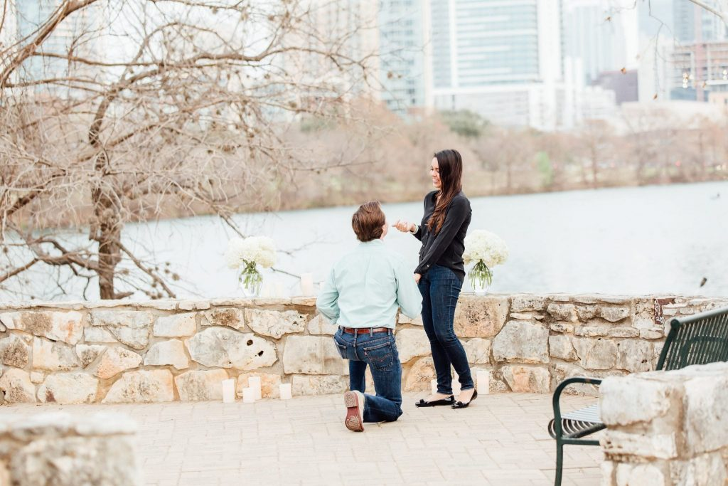 How he asked - engagement