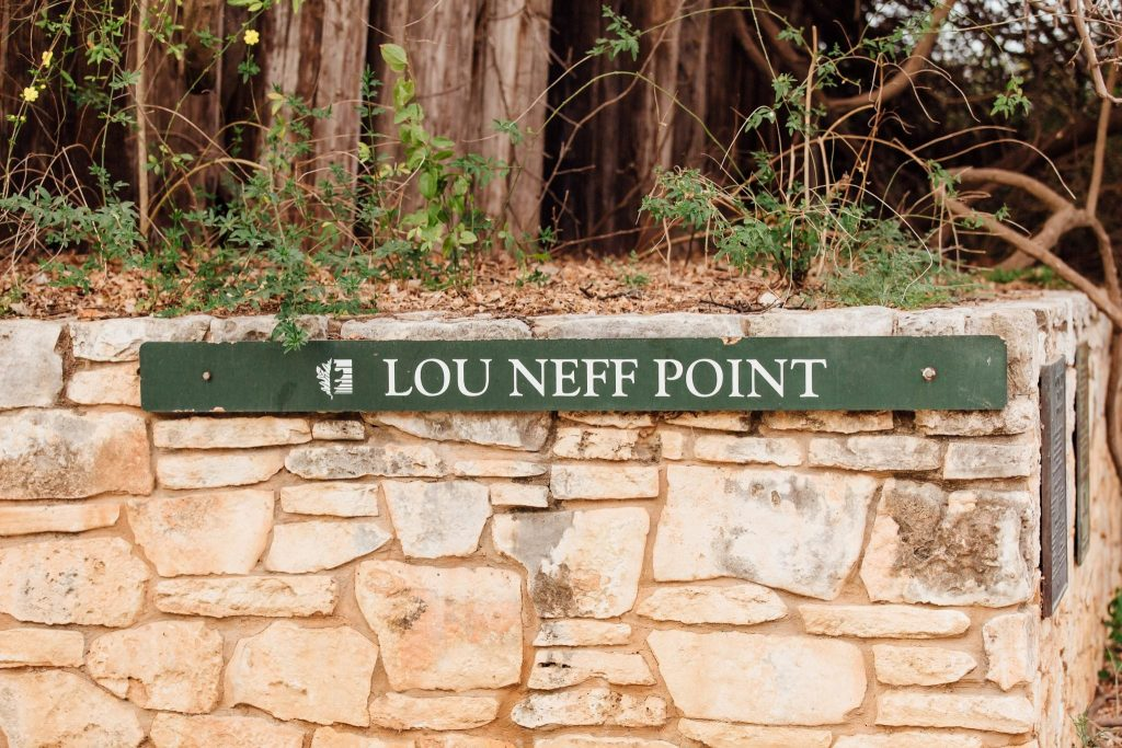 Lou Neff Point lookout