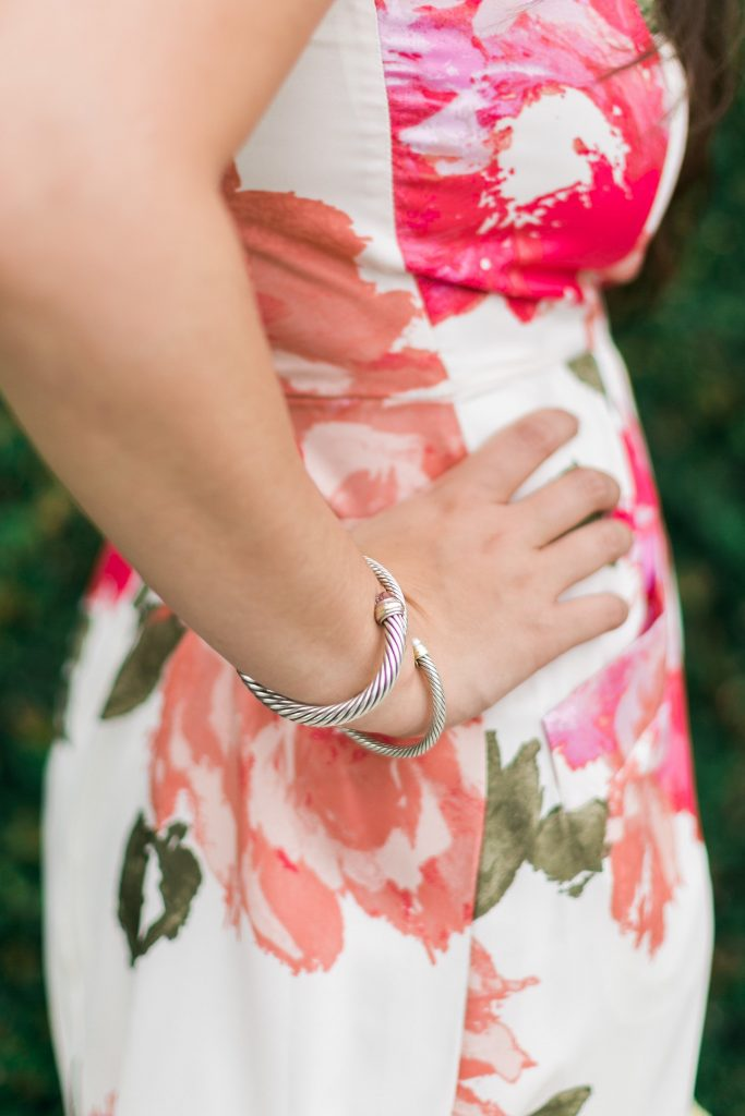 David Yurman bracelet stack
