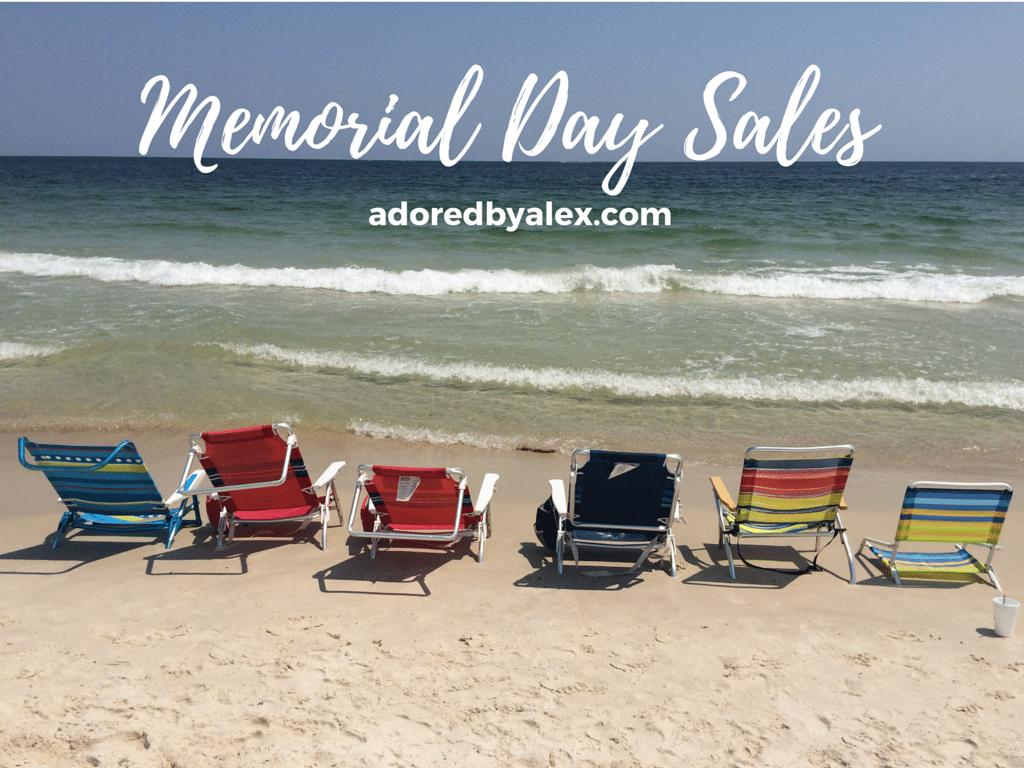 Memorial Day Weekend Sales