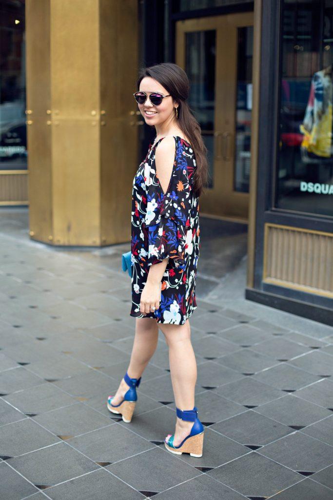 Parker New York Floral dress