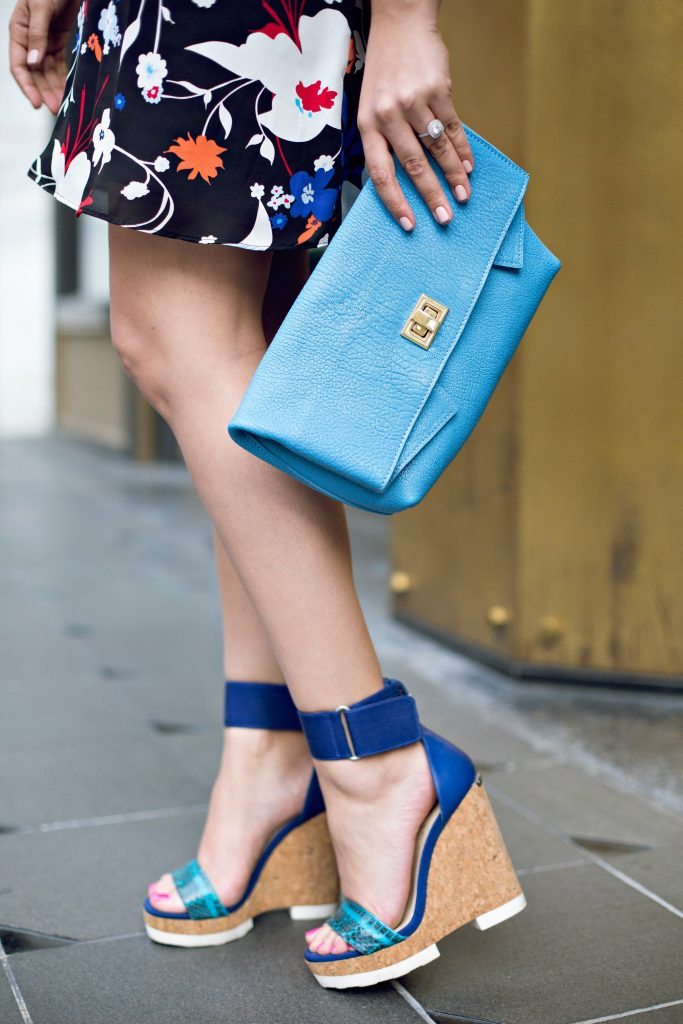 GiGi New York Hyacinth Claire Clutch