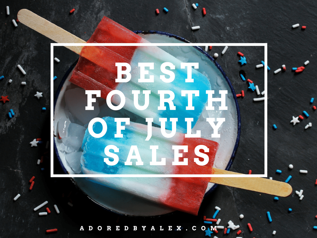 Let's Shop: Fourth of July Weekend 2016 Sales