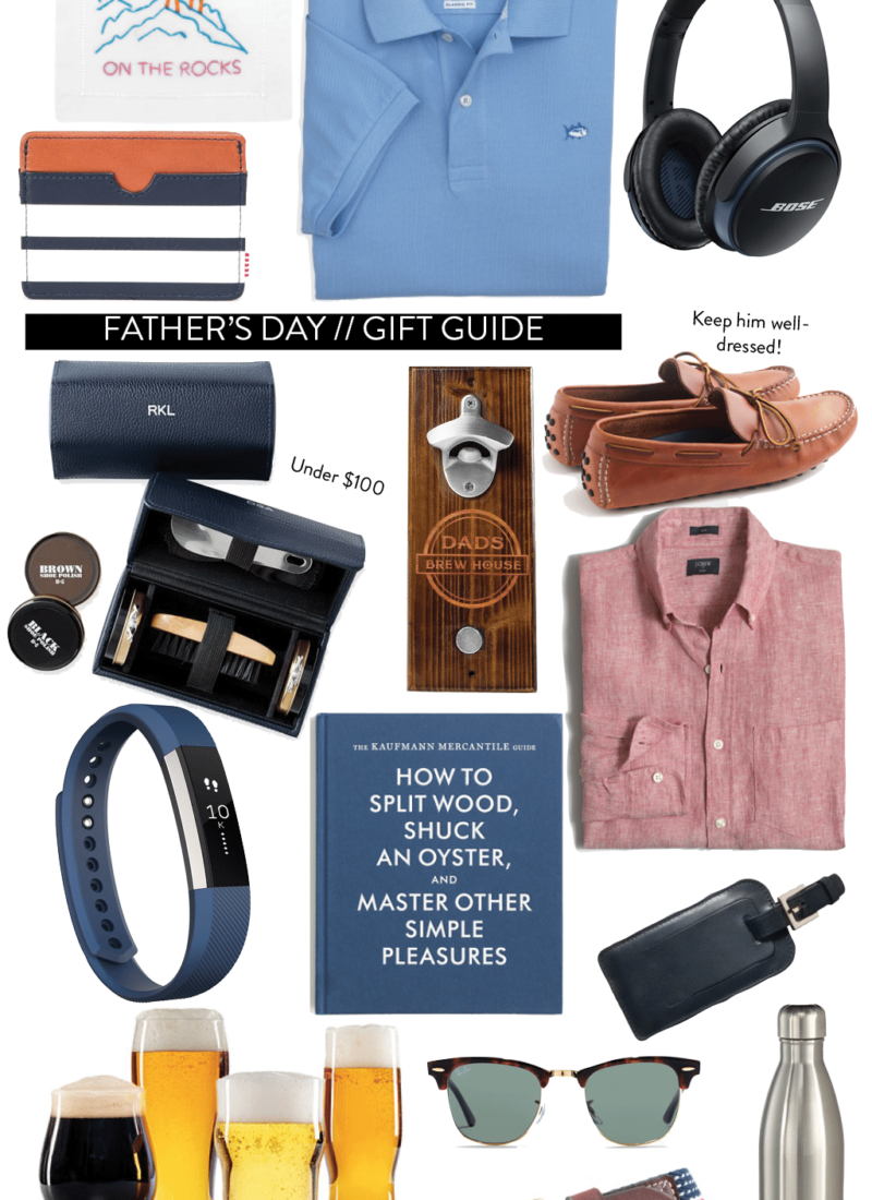 Gift Guide // Father's Day