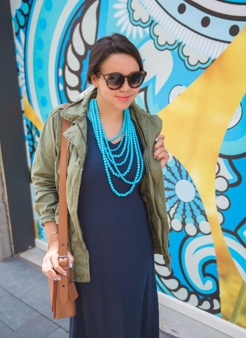 layering with a fatigue style jacket
