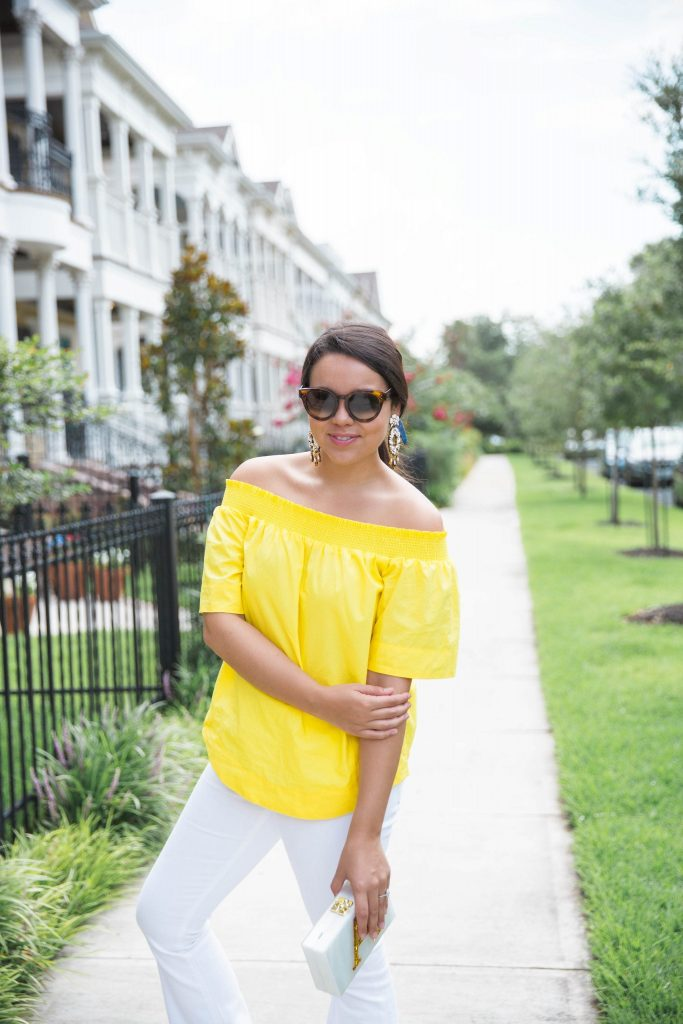 Summer yellow top