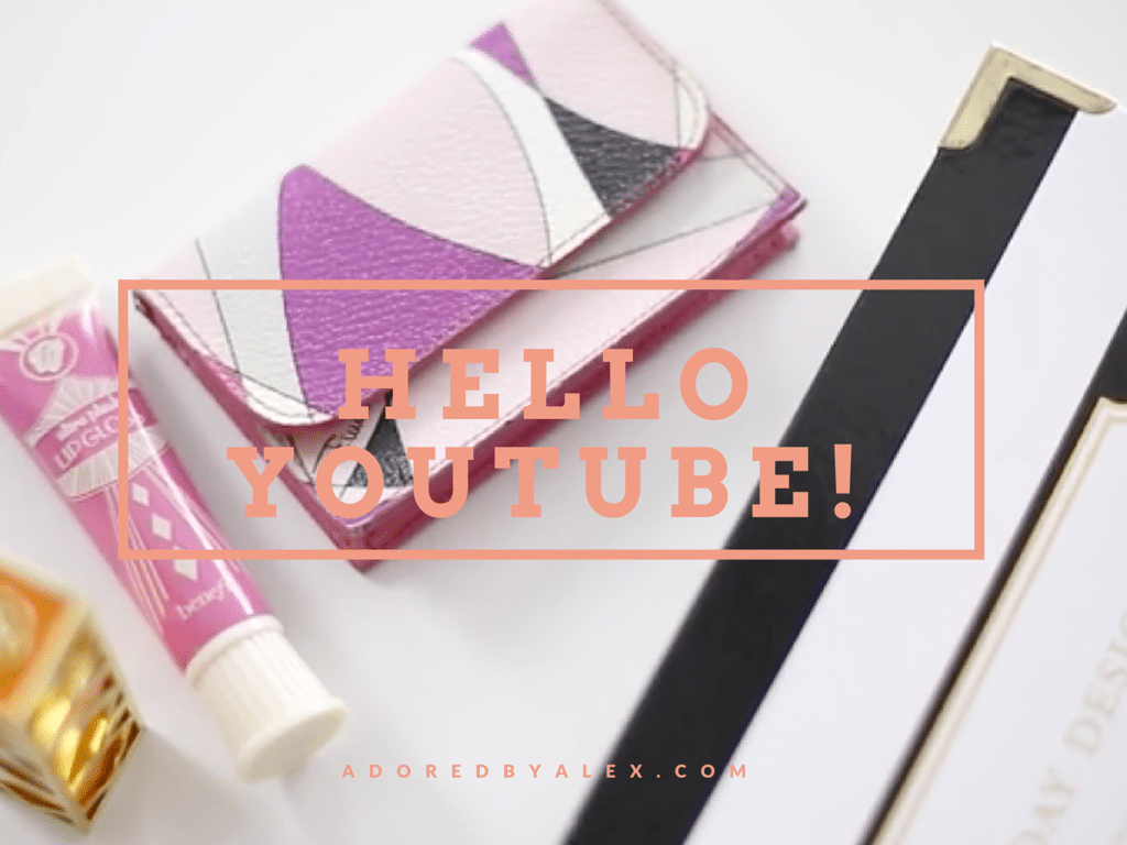 Hello YouTube {Video}