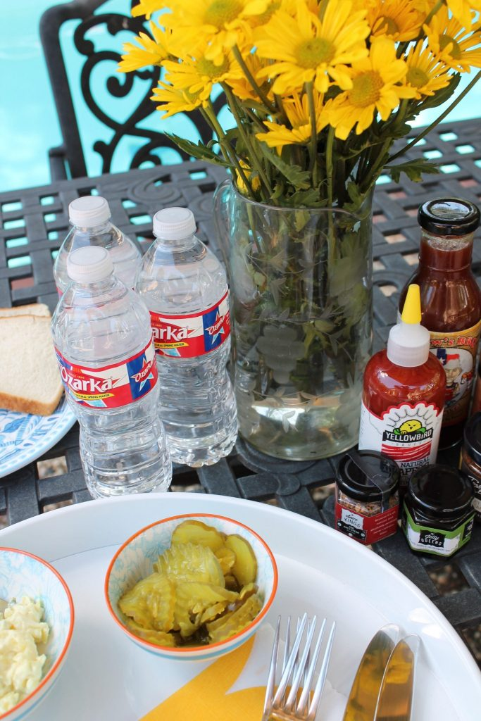 Summer BBQ with Ozarka Water