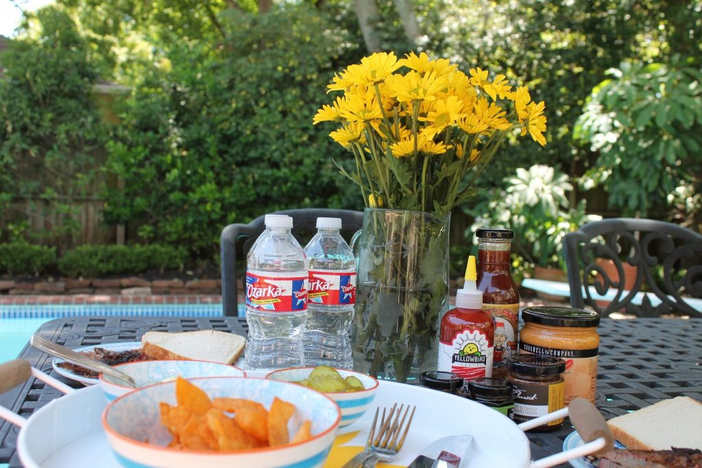 Summer eats with Ozarka Water