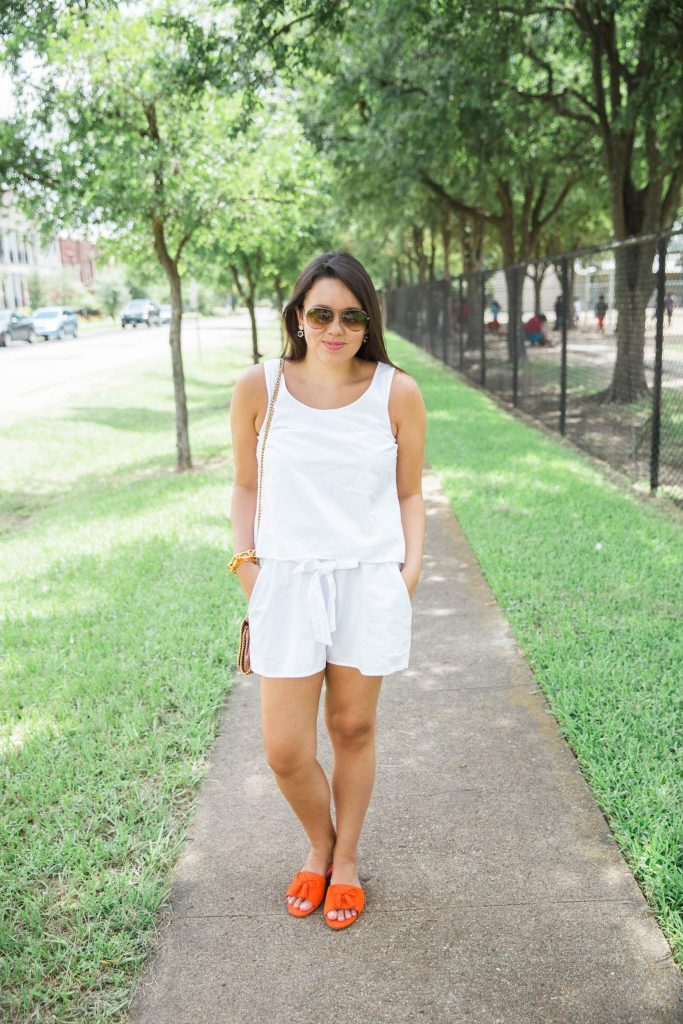 Splendid White Romper
