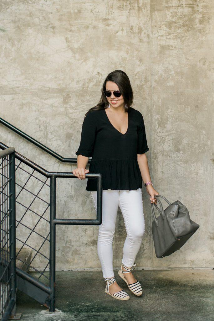 grey slouchy handbag