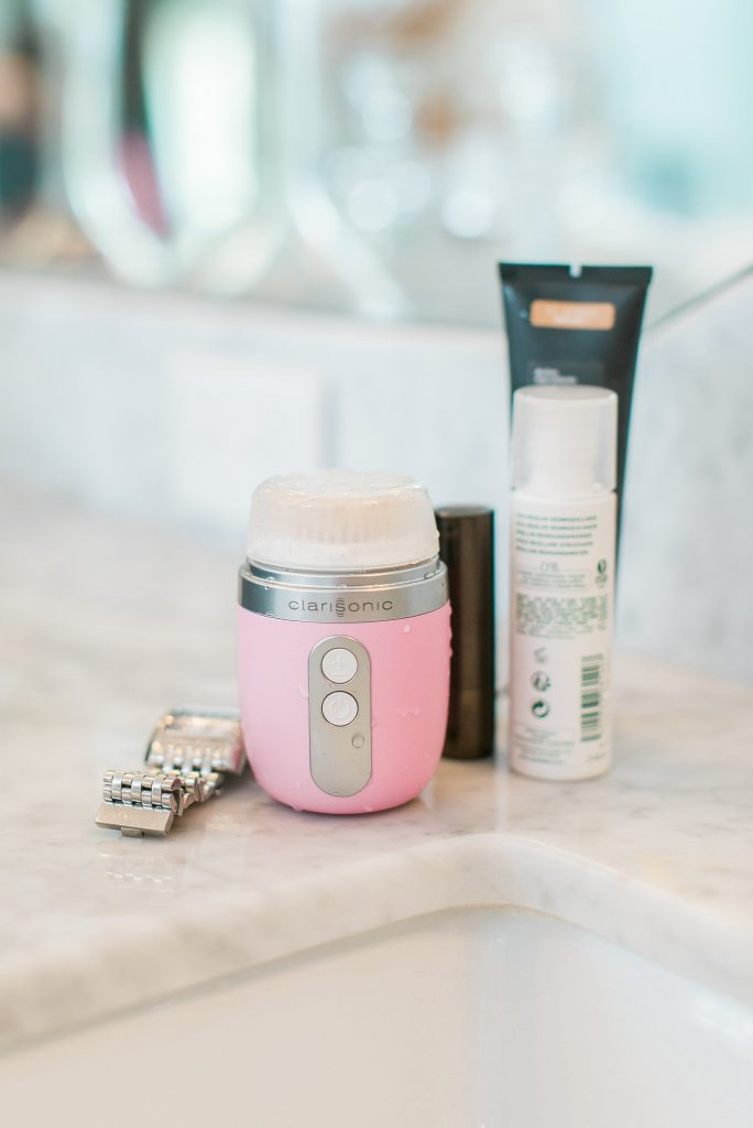 Daily routine with Clarisonic