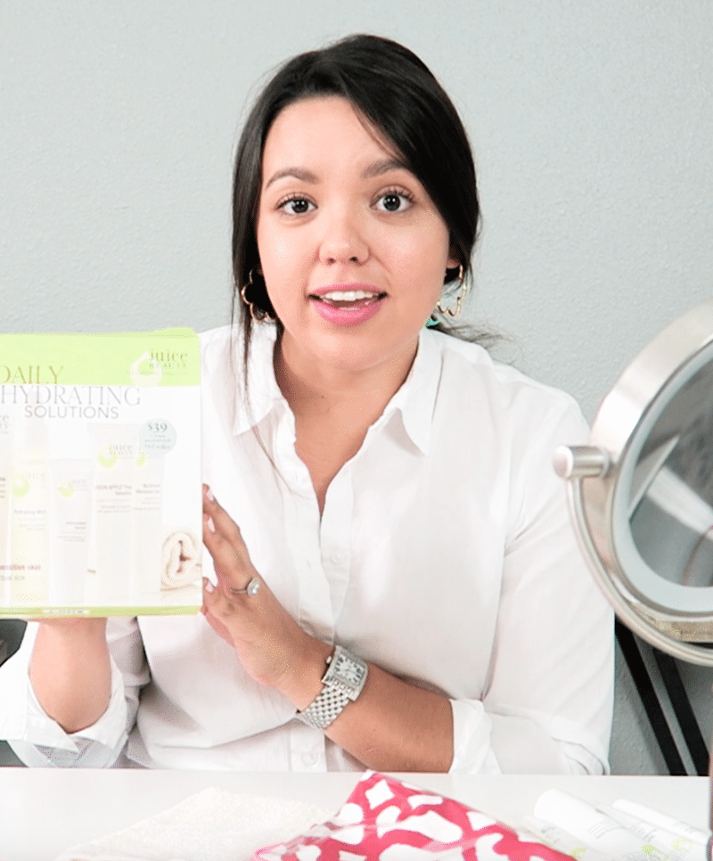 Skincare Travel Routine with Juice Beauty & Giveaway! {Video}