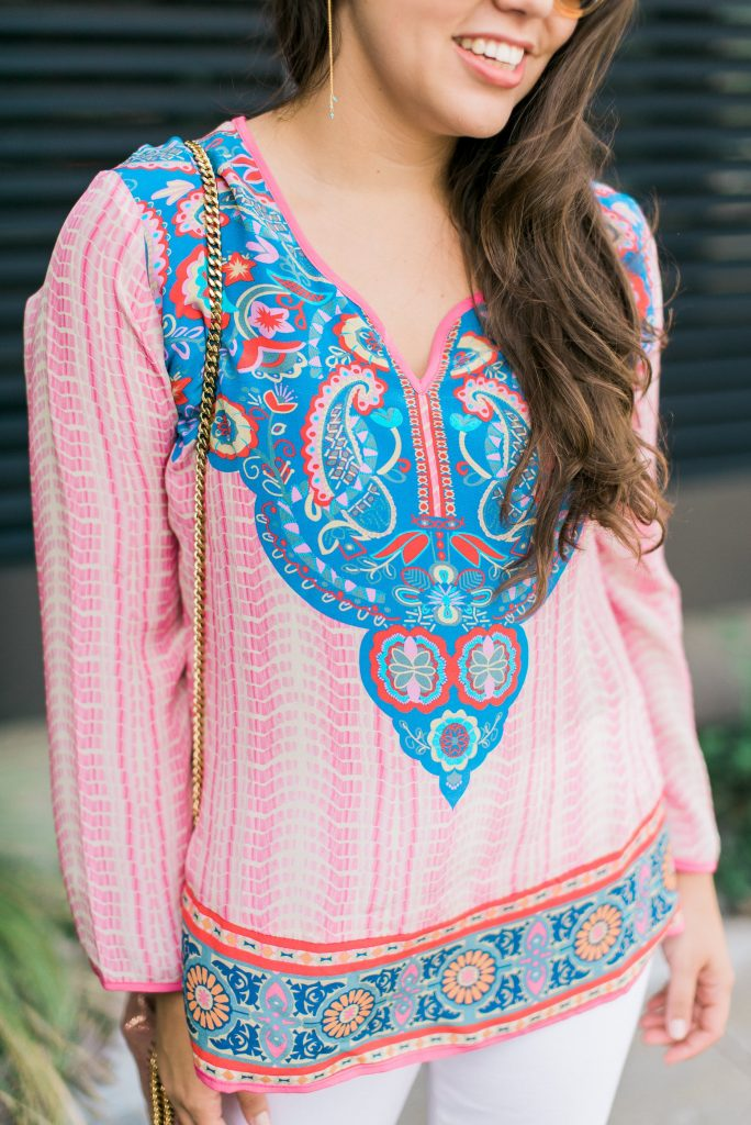Tolani Collection printed tunic