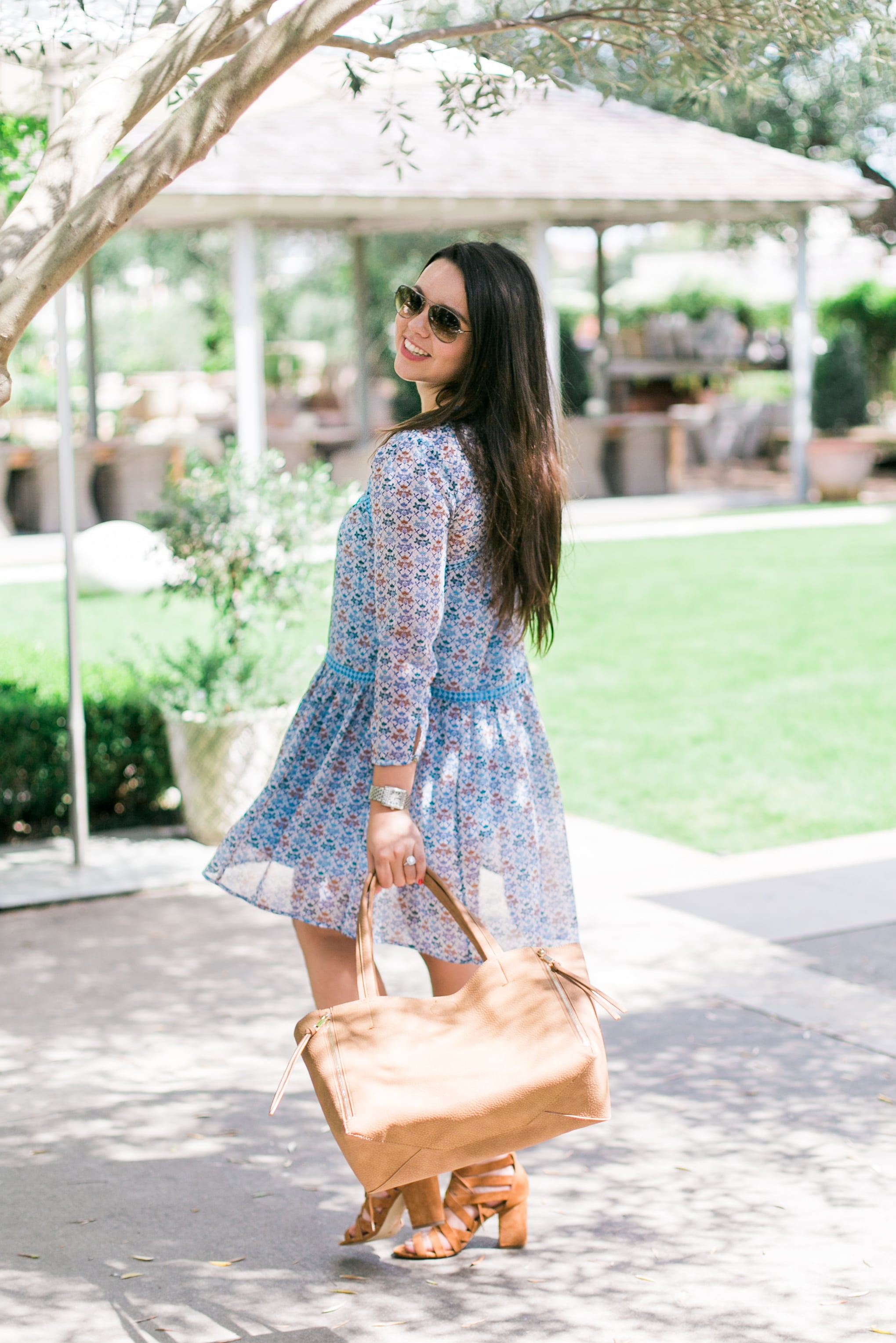 Betony swing dress - Anthropologie
