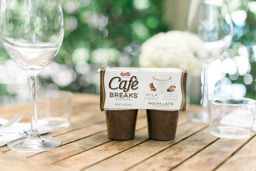 Cafe Breaks Mocha pudding flavor