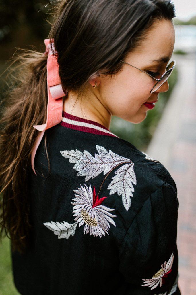 Velvet hair bow - Anthrpologie