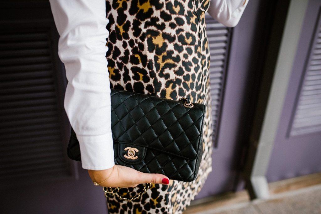 classic Chanel handbag