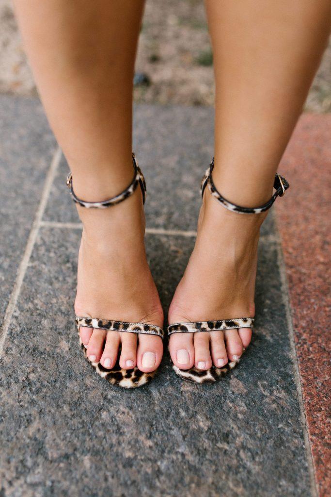 Stuart Weitzman Nudistsong calf-hair heels